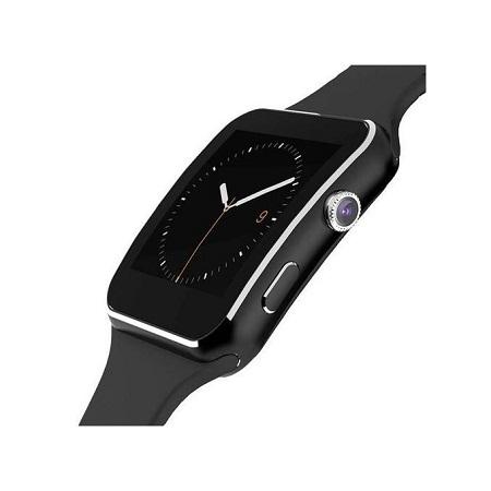 X6 - Smart Watch Phone MTK6260 0.3MP Camera - Black