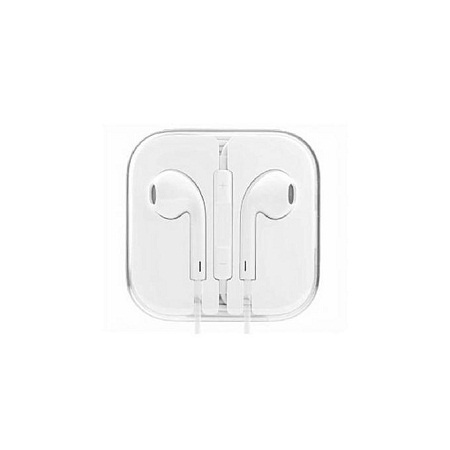 Universal Wired Earphone for Android and iPhone - White