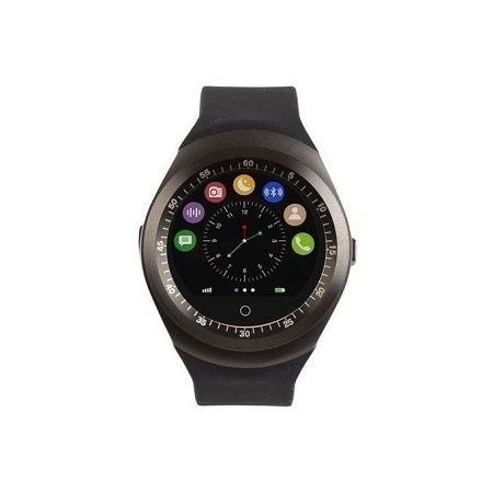 Watch Y1 - Smart Watch with M-pesa - Black