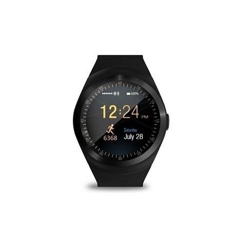 Y1 - Smart Watch with M-pesa menu,Bluetooth 3.0 280mAh - Black