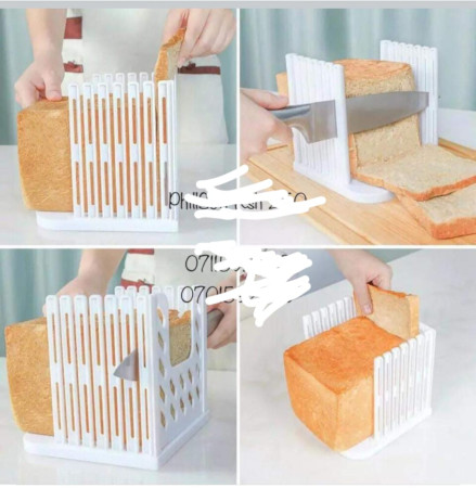 Bread Slicer Cutting Guide Plastic Slicing Toast