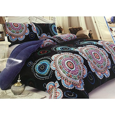 Beautiful woolen Duvet blue 5*6