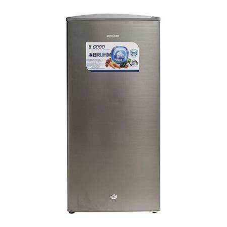 Bruhm BRS 155MMDS - 158L - Single Door Direct Cool Refrigerator - Metallic Grey