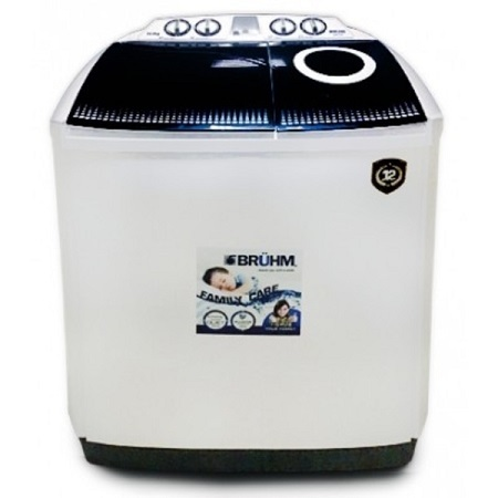 BRUHM 7.0KG Semi Automatic Washing Machine-BWT-070H