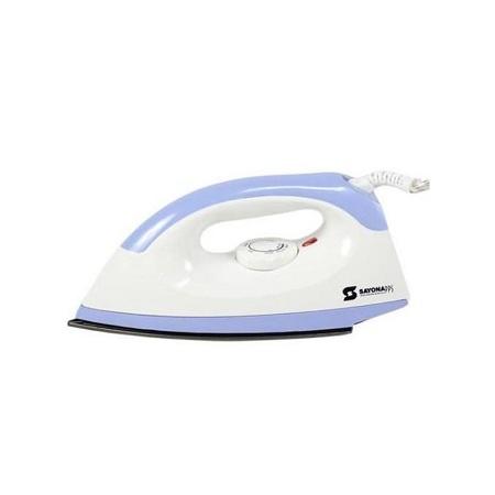 Sayona SI406- Dry Iron Box - 1000W - White & Blue