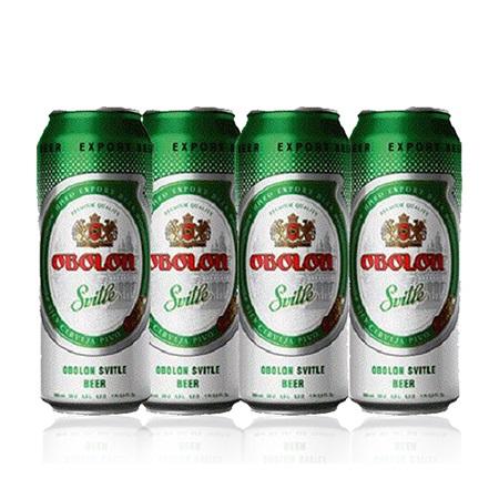 Obolon - Svitle Lager Beer - 4 pack