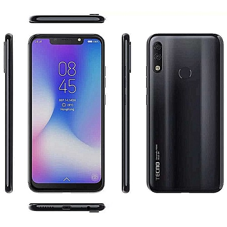 TECNO Camon 11 Pro - 6.2 Inch,(6GB+64GB) (Dual SIM), 4G -Nebula Black