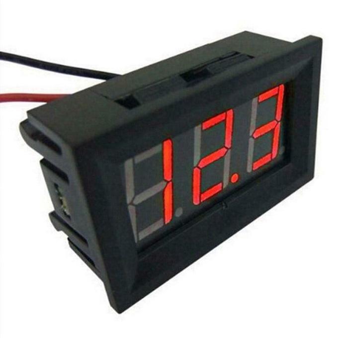 LED Display Mini Voltmeter Tester Digital Voltage Meter Car Volt Test DC 0-30V