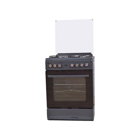 BJS I-6011T-GREY 60X60 3-GAS+1 Hot Plate With Turbo-FAN