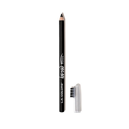 L.A. Colors On Point Brow Pencil - Black