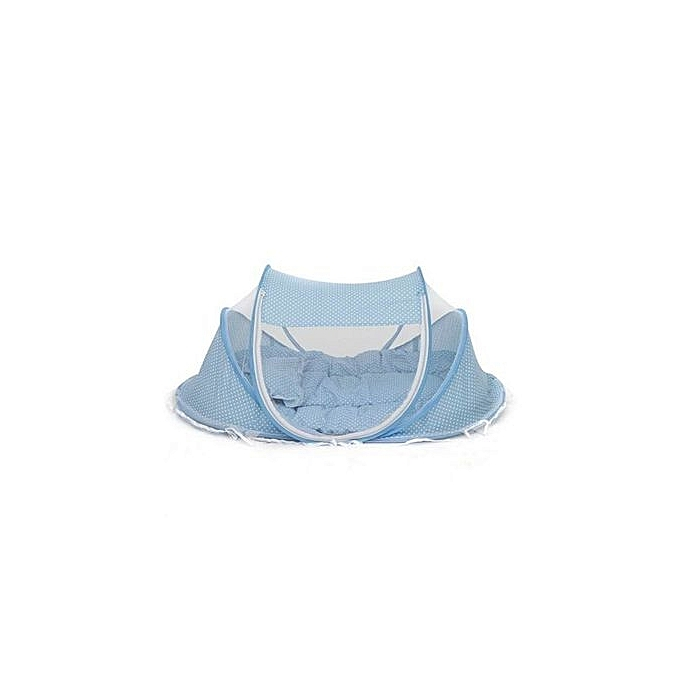 Generic Baby Cot Mosquito Net - Sky Blue