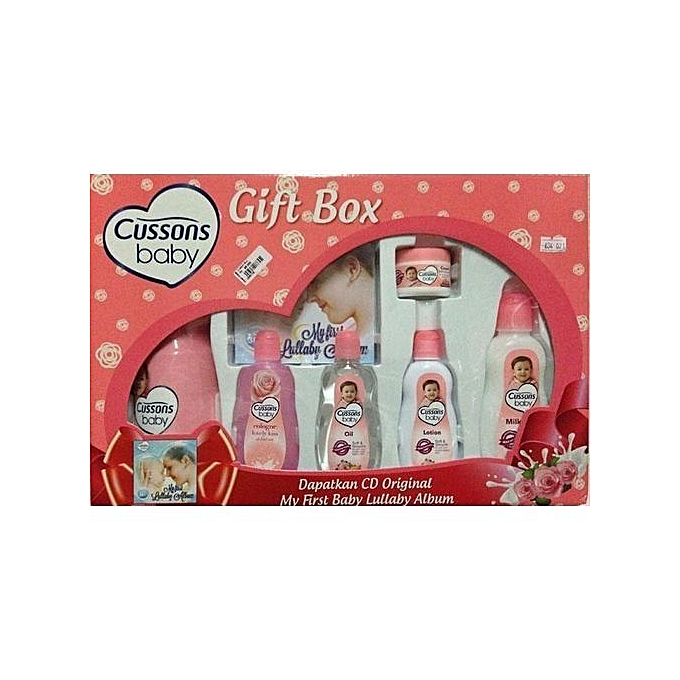 Cussons Soft & Smooth Baby Gift Box- Pink