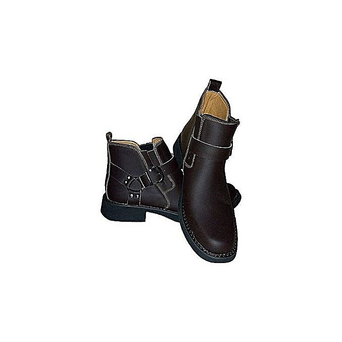 Urban Look Brown Official Boot