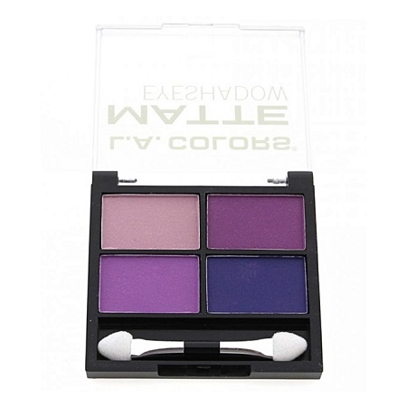 La Colour 4 Color Matte Eyeshadow - Mattenifecent