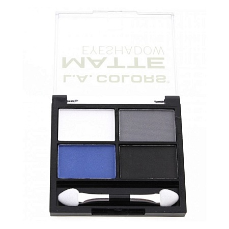 La Colour 4 Color Matte Eyeshadow - Matt-O-Rama