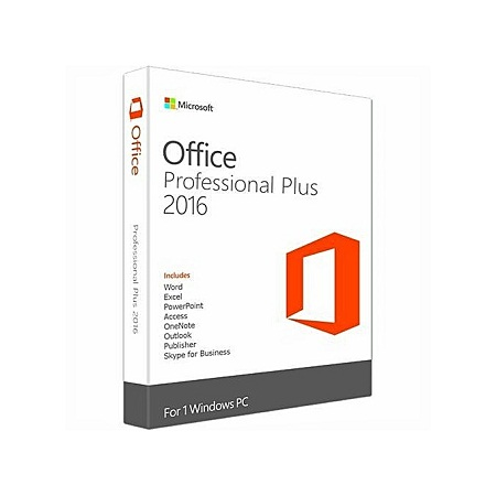 Microsoft Office Professional Plus 2016 32 / 64 Bit Product Key Only
