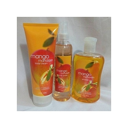 Body Luxuries Mango Mandarin 3(body splash ,shower gel ,body cream 226g)