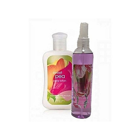 Signature Collection Sweet Pea 2 in 1 Body Splash (295 ml) & Lotion (236 ml)