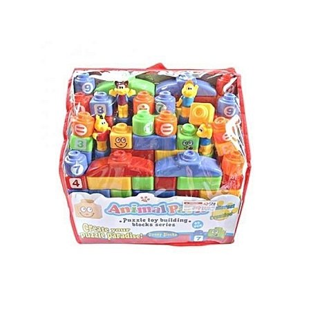 Generic Building Blocks (Animal Park ) - Multicolored - 200 Pcs