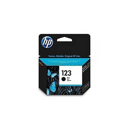 HP 123 BLACK HP CARTRIDGE toner suitable for any machine