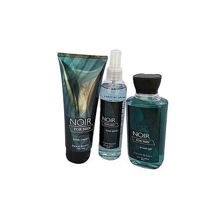Dear Body 1 Noir for Men Body Cream, 1 Body Splash + Shower Gel