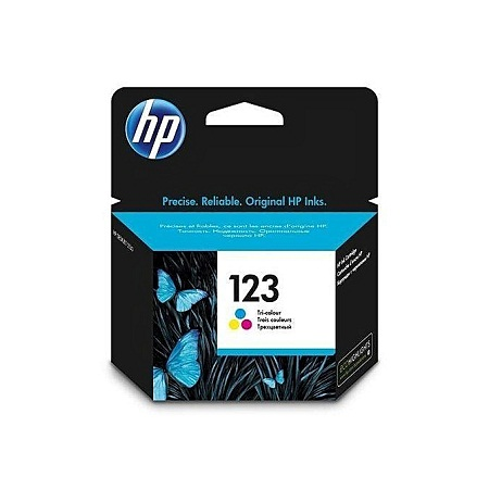 HP 123 Tricolour Cartridge
