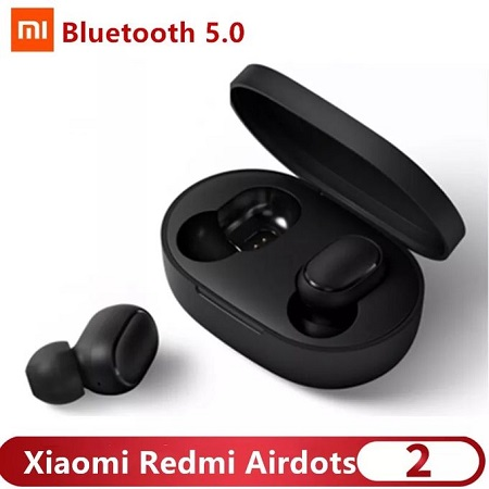 XIAOMI Redmi Airdot Wireless Earphone Bluetooth 5.0 - Black
