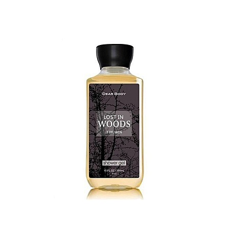 Dear Body Lost in the Woods Shower Gel