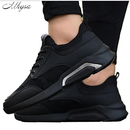Men Trending Style Sports Shoes ,Breathable Trainers Sneakers