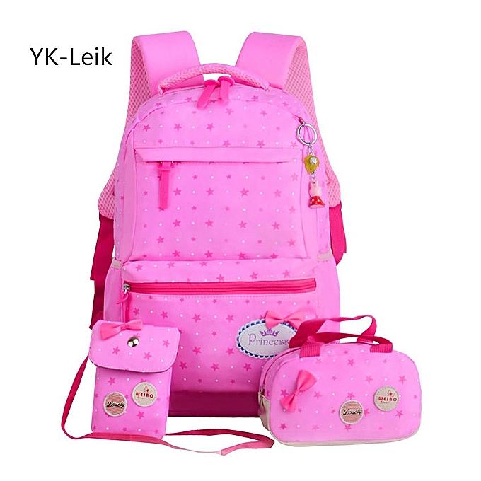 3 Piece Set School Backpack