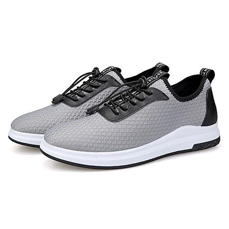 Men's Breathable Mesh Sport Shoes-Grey
