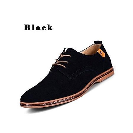 Casual Lace-Up suitable & Comfortable Super Large Size New Shoes -black
