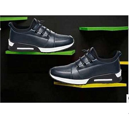 Charcoal Sneakers-Black