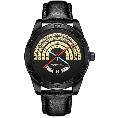 Men's Creative Watch-Black