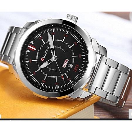 CURREN 8229 Genuine  Analog Display Date Men's Quartz Watch