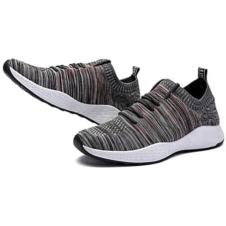 Men's Sneakers Men Running Shoes Trending Style Sports Shoes Breathable Trainers Sneakers Grey