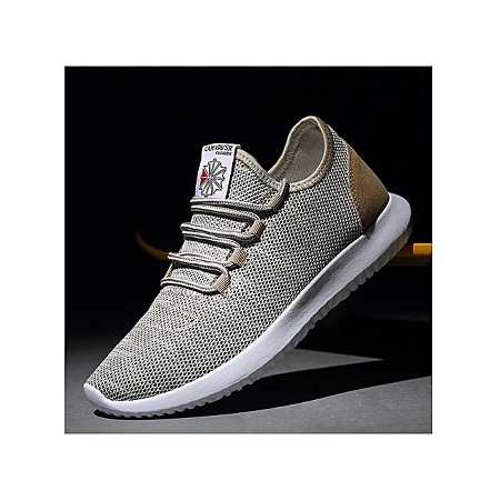 Breathable Knitting Line Sneakers Men Sport Running Shoes Fashion Casual Shoes