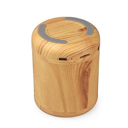 Mini Bluetooth Speaker Wooden Music Box Support TF AUX Speaker Speaker Stereo