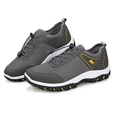 Men's Mesh Mountaineering Sport Shoes - Grey