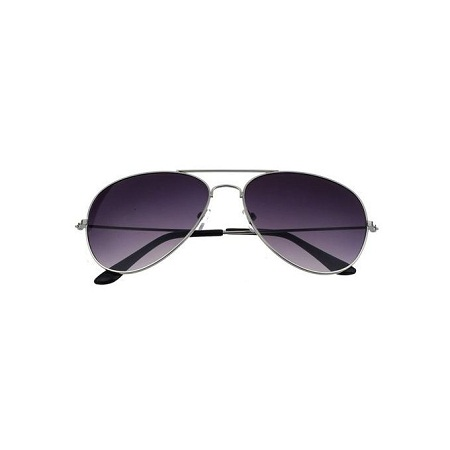 bluerdream-Unisex Retro Sunglasses- Silver