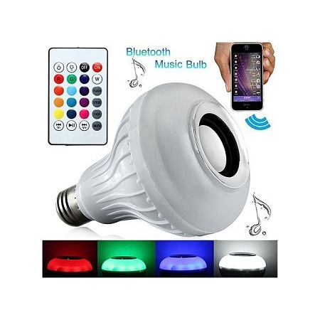 Bluetooth Speaker music bulb.