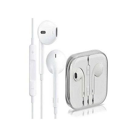 Earphones for smartphones - White