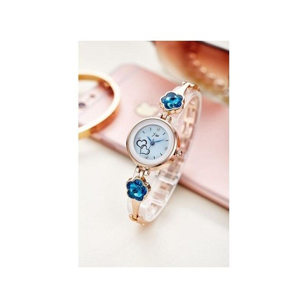 Fashion Gold Casual Women Dress Watch