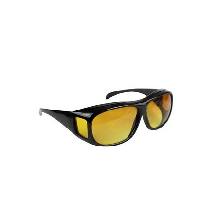 Night Vision Sunglasses Night Sight HD Glasses Driving Anti Glare yellow