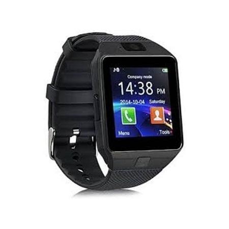 Simcard Smart Watch - 128MB ROM - 64MB RAM - Black