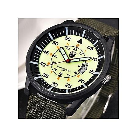 Xinew Military Male Quartz Army Watch -Green