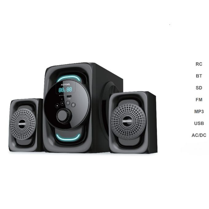 AILYONS ELP-2511K- 2.1CH Multimedia Speaker System