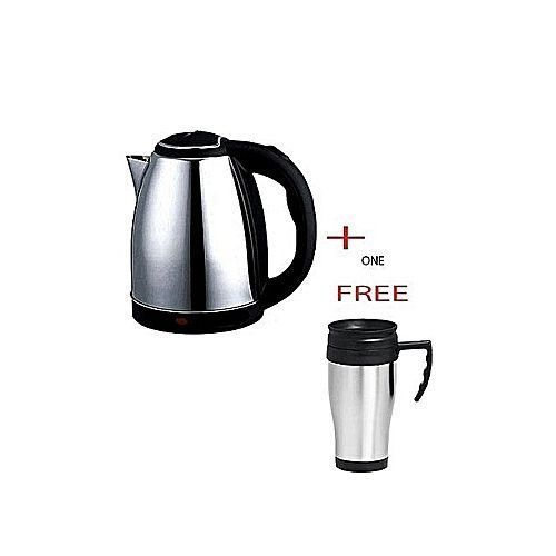 AILYONS Electric Cordless Kettle 1.8 Litres + A FREE Travel Mug