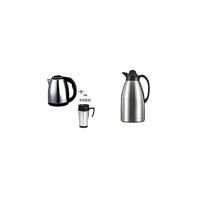 AILYONS Electric Kettle + Travel Mug + Vacuum Flask