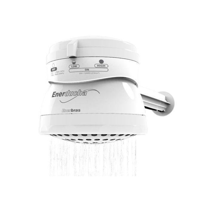 Enerbras Enerducha 3 Temperature Instant Shower Water Heater - Grey